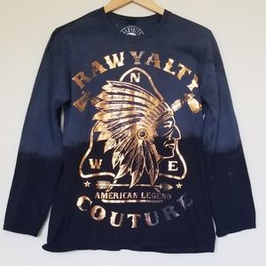Rawyalty Couture Long Sleeve Top